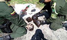 incautadas mas de 4500 dosis de bazuco y base de coca en vias de norte de santander - Categoria: Actualidad  ND: En el procedimiento tambiAn fue incautada una motocicleta en la que fue movilizado el alucinAgeno.En cumplimiento con la Ofensiva Nacional Contra el Crimen, ordenado por el Presidente de la RepAblica y la DirecciAn General de la PolicAa Nacional de todos los colombianos, la policAa incautA 4.510 dosis de narcAticos que se movilizaron en una motocicleta en la ciudad de CAcuta.Este…