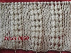 Wzór 0050*Robótki na drutach *Dzierganie dla początkujących Tutorial