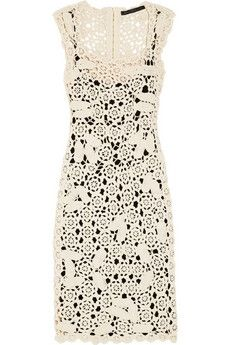 Marc by Marc Jacobs|Crocheted cotton dress|NET-A-PORTER.COM - StyleSays