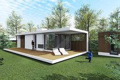 Source modular sea container house,customized ocean co Container Home Designs, Sea Container Homes, Modern Tiny House, Tiny House Design, Small House Plans, Small Cottage Designs, Industrial Kitchen Design, Shipping Container House Plans, Minimal Home