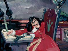 Jim Salvati – The Captain's Quarters – Peter Pan Captain Hook Arte Disney, Disney Magic, Disney Pixar, Peter Pan And Tinkerbell, Peter Pan Disney, Disney And More, Disney Love, Amelie, Captain Hook Peter Pan
