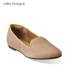 Valley Lounge   Clarks Spring 2014 Collection   Flavorful Flats   #style   #womensshoes
