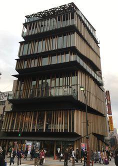 浅草文化観光センター    隈研吾