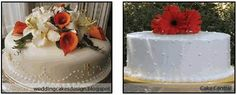 Small cakes with simple decorative touches of autumn