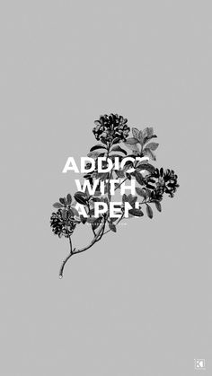 Addict With a Pen by Twenty One Pilots | Wallpaper and Lockscreen Designs by KAESPO