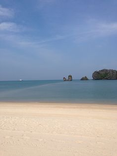 Tanjung Rhu Resort, Kedah, Malaysia — by Bettina Arknaes. Beach on north west Langkawi belonging to a resort, but you can use half of the beach as a guest until 1900 every day.