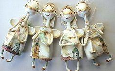 ангелы из папье маше - Поиск в Google