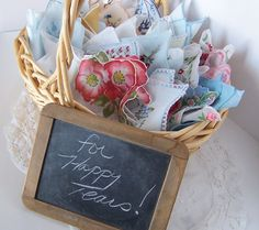 Happy Tears Wedding Favors Vintage hankies for wedding mementos by GreenbriarCreations on Etsy