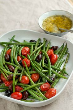 Haricot Vert Salad With Anchovy Vinaigrette Dressing