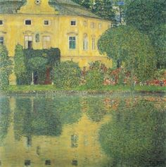 Lake Attersee / Schloss Kammer am Attersee IV 1910
