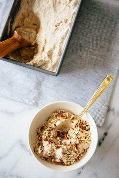 CARDAMOM ICE CREAM WITH CINNAMON SWIRL