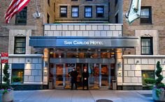 Service of San Carlos Hotel in New York City