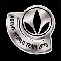 Active World Team 2013. EQUIPO DEL MUNDO ACTIVO. PIN NUEVO