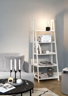 Lightbox, Ladder Bookcase, Look Cool, Modern, Sweet Home, New Homes, Shelves, Interior, Shopping