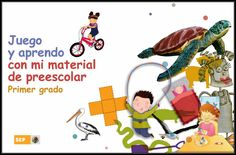 Soy Preescolar | Material para Padres de FamiliaJuego y Aprendo con mi Material de #Preescolar(Primer Grado). #SEP