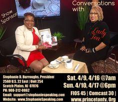 Hello Beautiful people! Our 2nd segment for our upcoming show this weekend features Stephanie Burroughs, Stephanie speaking LLC.  An amazing entrepreneur & motivational speaker!  #Entrepreneurship  #motivationalspeaker  #moverandshaker #LadyTeaTv