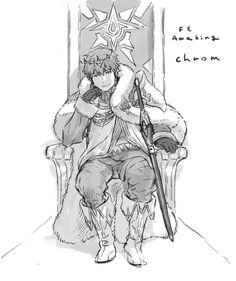 (by @kymg on Twitter) Fire Emblem: Awakening - Chrom