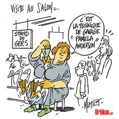 Ouverture du Salon de l'agriculture à Paris - Dessin du jour - Urtikan.net
