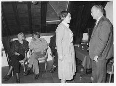 Pauline Kruseman wordt aan het personeel voorgesteld als nieuwe directeur van het Amsterdam Museum op 14 februari 1991.