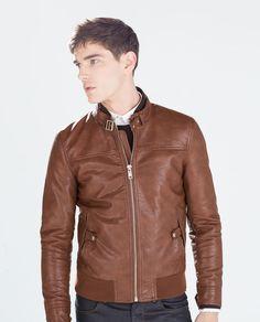 ZARA - MAN - SEAMED JACKET colors black and brown i prefer brown