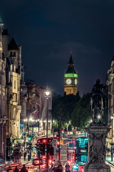 A view from Trafalgar Square. London  original travel photography by- mbphotograph