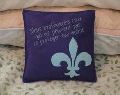 """Teen Wolf-- """"Argent Code""""-- Decorative Pillow"""