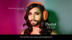 The Parrot Zik Sport is a musical headset dedicated to sport with premium audio features and crystal-clear call. Adaptive noise cancellation isolates external sound almost completely depending on your environment: calm or noisy.