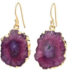 Agate Dangling Earrings - Red ($45) ❤ liked on Polyvore featuring jewelry, earrings, agate earrings, long dangle earrings, red agate earrings, hook earrings and nickel free jewelry