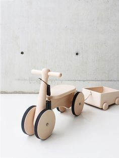 Products we like / Wooden Toy / Kids Toys / at designbinge: Wooden Bike by Taiwanese design company Rüskasa Deco Kids, Kids Bike, Wood Toys, Wood Kids Toys, Gifts For Boys, Kids Furniture, Furniture Cleaning, Wooden Furniture, Old Pallets