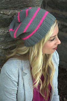 Ravelry: F522 Neon Striped Hat pattern by Emily Turcotte
