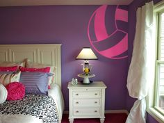 Volleyball Wall Deco
