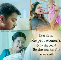 Theri Vijay Samantha Cute Quote Photos | art | Pinterest ...