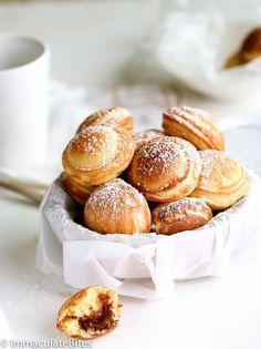 Poffertjes Recipe, Ebelskiver Recipe, Danish Pancakes, Pancakes And Waffles, Gourmet Recipes, Sweet Recipes, Dessert Recipes, Barbecue Recipes, Fun Desserts