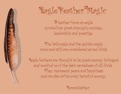 Eagle feather magic