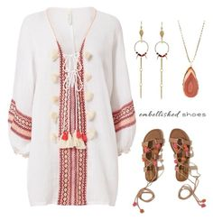 """""""boho style"""" by im-karla-with-a-k on Polyvore featuring Cool Change, Hollister Co., Loshy and Pavcus Designs"""
