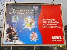 215. - Plakat in Stockach. / 22.12.2013./