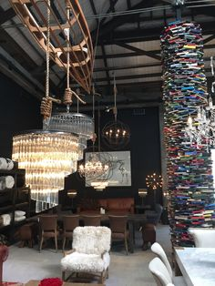 Recent Prodject- First Point Electrical. Show room at Dawson & Co. The Strand Parnell Electrical Projects, Showroom, Chandelier, Ceiling Lights, Lighting, Home Decor, Candelabra, Decoration Home, Room Decor