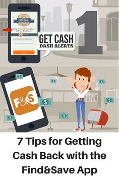 7 Tips for Getting Cash Back with the Find&Save App