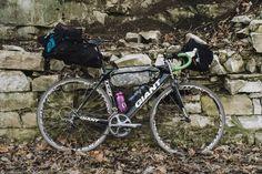Giant TCR  Bikepacking Gravel Tourer — EVERYTHING WILL BE NOBLE