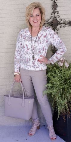50 IS NOT OLD | MELLOW MUSHROOM | Calming | Zen | Monochromatic | Transition Outfit | Fashion over 40 for the everyday woman