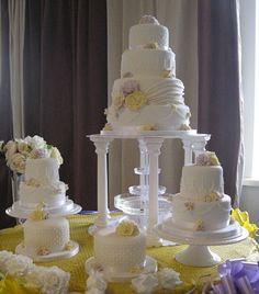 wedding cake tiers - Google Search