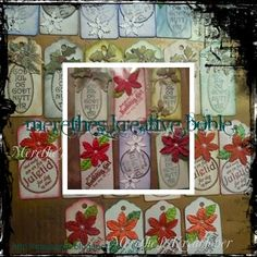 Merethes Kreative Boble Advent Calendar, Scrapbooking, Stamp, Holiday Decor, Paper, Cards, How To Make, Creative, Stamps