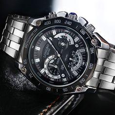 LONGBO Wristwatch 2017 Quartz Watch Men Watches Top Brand Luxury Famous Steel Wrist Watch Male Clock Relogio Masculino Hodinky #jewelry, #women, #men, #hats, #watches, #belts, #fashion