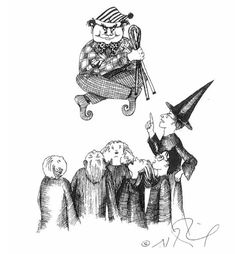 Harry Potter original sketches by J.K. Rowling.