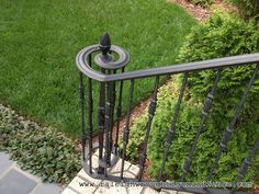 Los Angeles CA custom wrought iron railings Raleigh Wrought Iron Co.
