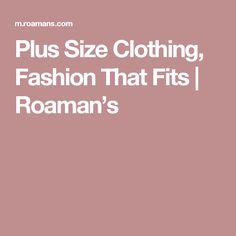 Plus Size Clothing, Fashion That Fits | Roaman's