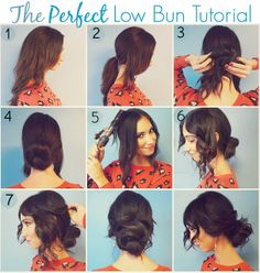 A Lifetime of Rain: Low Bun Tutorial + Holiday Must-haves