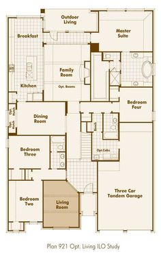 New Home Plan 238 in Forney TX 75126 House Plans Pinterest