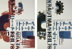 Gigposter for a concert in Reil 78: Thema Eleven, Veyun, Krautman, four coloured screenprint, HALLE/2009