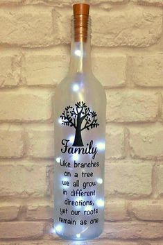 Bottle Crafts Bottle DIY DIY Bottle Wine Bottle Bottle Lights bottle crafts diy 38 Magical DIY Crafts With Wine Bottle That Will Amaze You - Page 4 of 38 - Veguci Wine Bottle Gift, Glass Bottle Crafts, Diy Bottle, Bottle Art, Beer Bottle, Vodka Bottle, Painted Wine Bottles, Lighted Wine Bottles, Bottle Lights